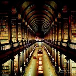 Dublin-The Long Room Library Trinity College