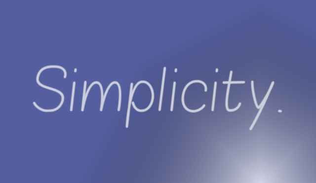 simplicity copy