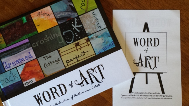 Word of Art book and reception program