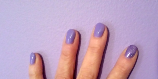 I did not paint my walls to match my nails, or vice-versa, but OPI now has a line of nail color inspired wall paints. Despite this picture, I think that's... an interesting marketing tool. (silly)