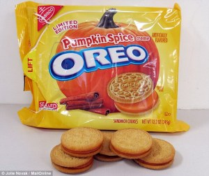 There are appropriate cookie outlets for pumpkin spice, but Oreo is not one of them.