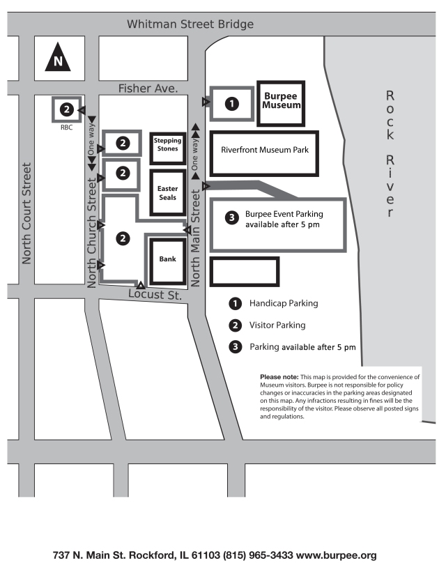 General Parking Map